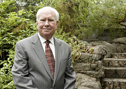 Photo: Peter H. Raven, president emeritus of the Missouri Botanical Garden. Link to higher resolution photo.