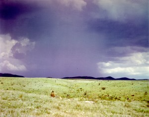 Rainstorm on the Walnut Gulch Experimental Range