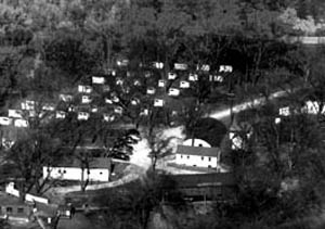 Aerial view of the Hog Cholera Research Station