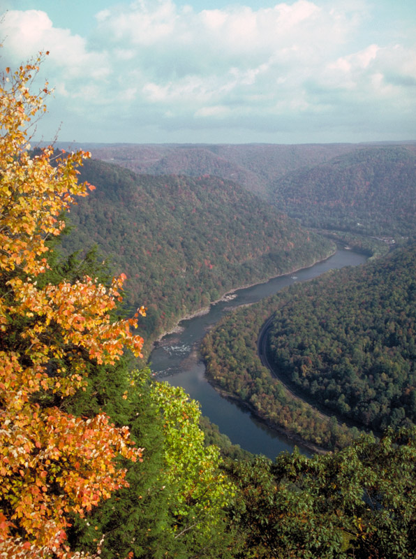 Scenic view from Grandview overlook