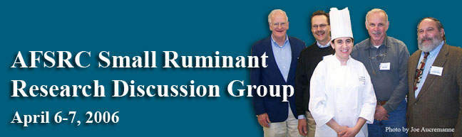 Meeting title-Small Ruminants Research Discussion Group