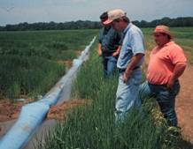 Inlet irrigation photo