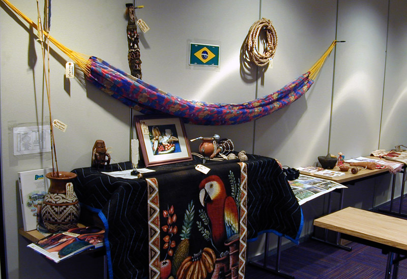 Display of Hispanic items