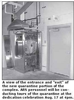 Autoclave in new Quarantine