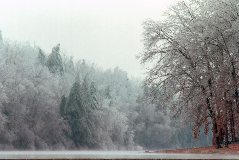 Little Beaver Lake in winter