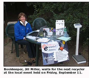 Bookkeepers station at 2009 event