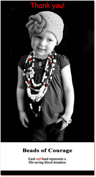Ida Marie and Beads of Courage