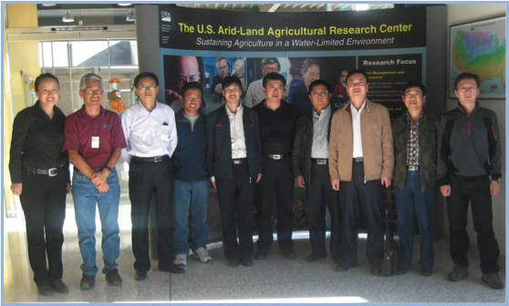 Chinese scientists and engineers visit ALARC