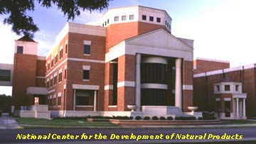 The National Cneter for the Development of Natural Products on the campus of the University of Mississippi