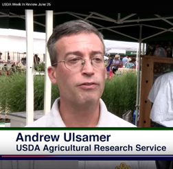 Andrew Ulsamer talks about the importance of pollenators on USDA's Week in Review