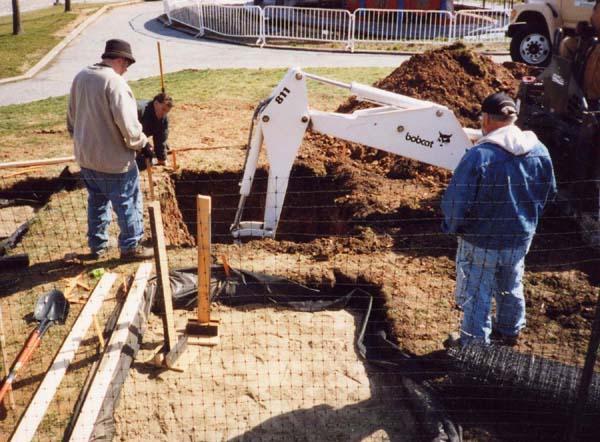 digging sub soils