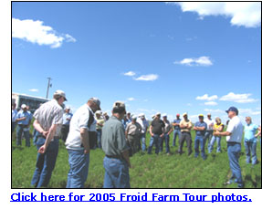 Link to the 2005 Froid Farm Tour photos.