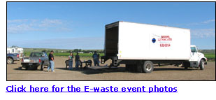 Link to E-waste event photos.