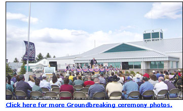Click here for more Groundbreaking ceremony photos.