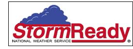 Storm Ready logo.