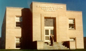 barley and malt laboratory building 1950