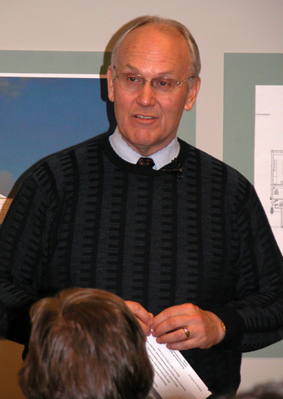 Senator Larry Craig speaks