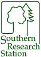 Southern Research Station, USDA Forest Service, Athens, GA Logo