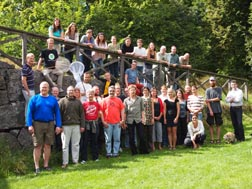 Class for HYM Course 2012. Tovetorp Zoological Research Station, Sweden