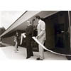 Thumbnail of Senator Byrd cutting ribbon at AFSRC Dedication