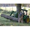Thumbnail of tractor moving log