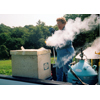 Thumbnail of Dr. Foster freezing plant samples with liquid nitrogen