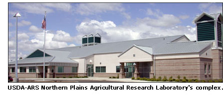 USDA-ARS Northern Plains Agricultural Research Laboratory's complex.