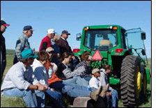Link to photos of Froid Research Farm Tour.
