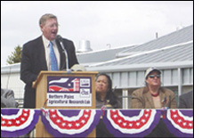 Link to photo of Quarantine Groundbreaking Ceremony.