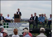 Link to photos of Nesson Valley Dedication Ceremony.