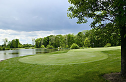Golf course landscape. Link to photo information