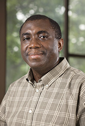 Charles Onwulata, supervisory research food technologist: Click here for photo caption.