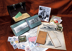 Notebooks, photos, and other artifacts from USDA plant explorer Frank Meyer, who brought plants from Asia and Europe to the United States from 1898 to 1918: Click here for photo caption.