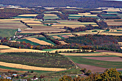 The Mahantango Creek Watershed near Klingerstown, Pennsylvania: Click here for full photo caption.