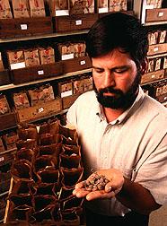 Geneticist John Bamberg