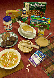 A dozen foods and other products that contain rice starch or protein:  Link to photo information