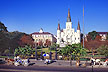 Jackson Square - The heart of the Vieux Carre' / New Orleans, LA
