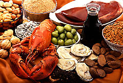 Photo: Copper-rich foods. Link to photo information