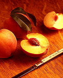 Flavorcrest peaches. Link to photo information