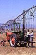 Soil core sampling in Colorado