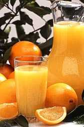 Because there is an acceptable range of vitamin D that can be added to products, BHNRC researchers have analyzed levels of vitamin D in orange juice and milk before and after fortification: Click here for full photo caption.