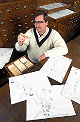 Entomologist Douglass Miller. Click here for full photo caption.