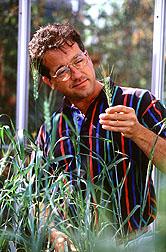 Geneticist Kent McCue.