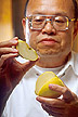 Photo: ARS chemist Dominic Wong was part of a team that discovered edible films.  Link to photo information