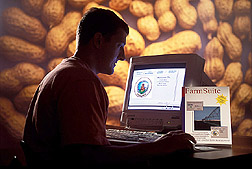 A package of computer programs offers peanut farmers a way to manage most farm operations. Click image for additional information.