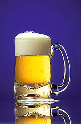 Mug of beer: Click here for photo caption.