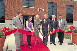 ARS dedicated two new buildings on August 26, 2003 at the Henry A. Wallace Beltsville Agricultural Reseach Center in Beltsville, Maryland. Click image for additional information.