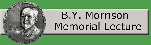 Logo: B.Y. Morrison Memorial Lecture