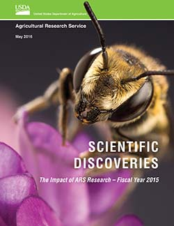 Scientific Discoveries: The Impact of ARS Research -- Fiscal Year 2015: Click here to view publication online.