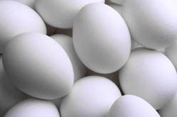 Photo: Close up of group of eggs